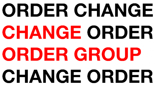 The Change Order Group
